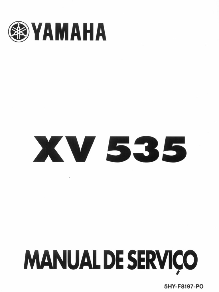 yamaha virago service manual pdf