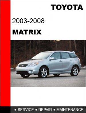 2004 toyota matrix repair manual pdf