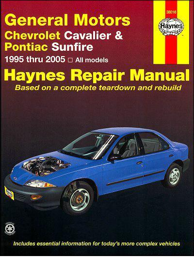 2003 pontiac sunfire repair manual