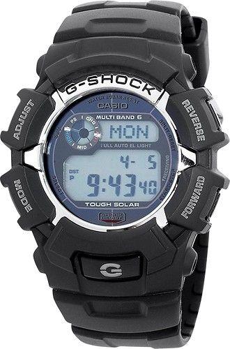 casio g shock atomic solar watch manual