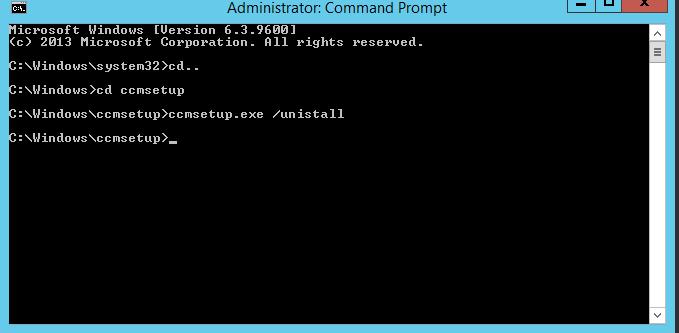 sccm 2012 manual client install command line