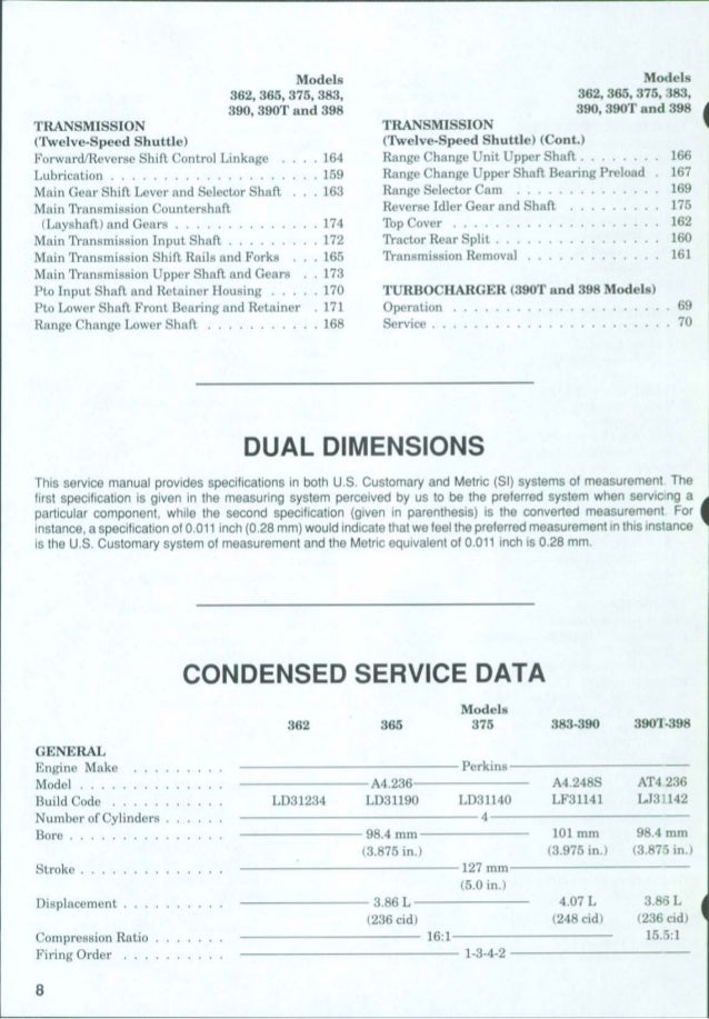 massey ferguson 383 service manual