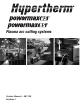 hypertherm powermax 30 service manual
