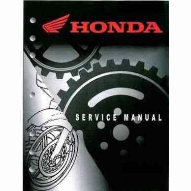 honda st90 shop manual pdf