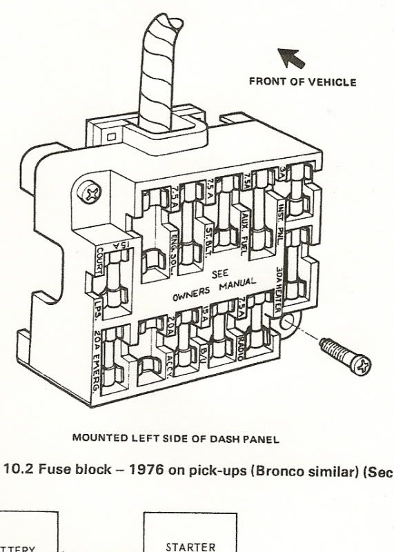2005 ford f150 owners manual fuses