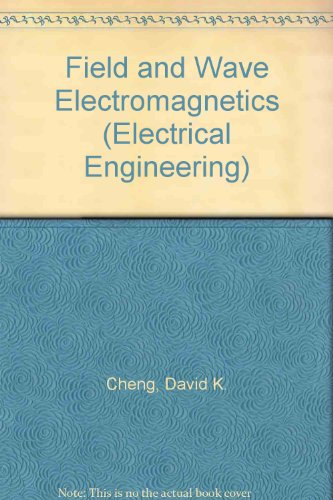 field and wave electromagnetics solution manual
