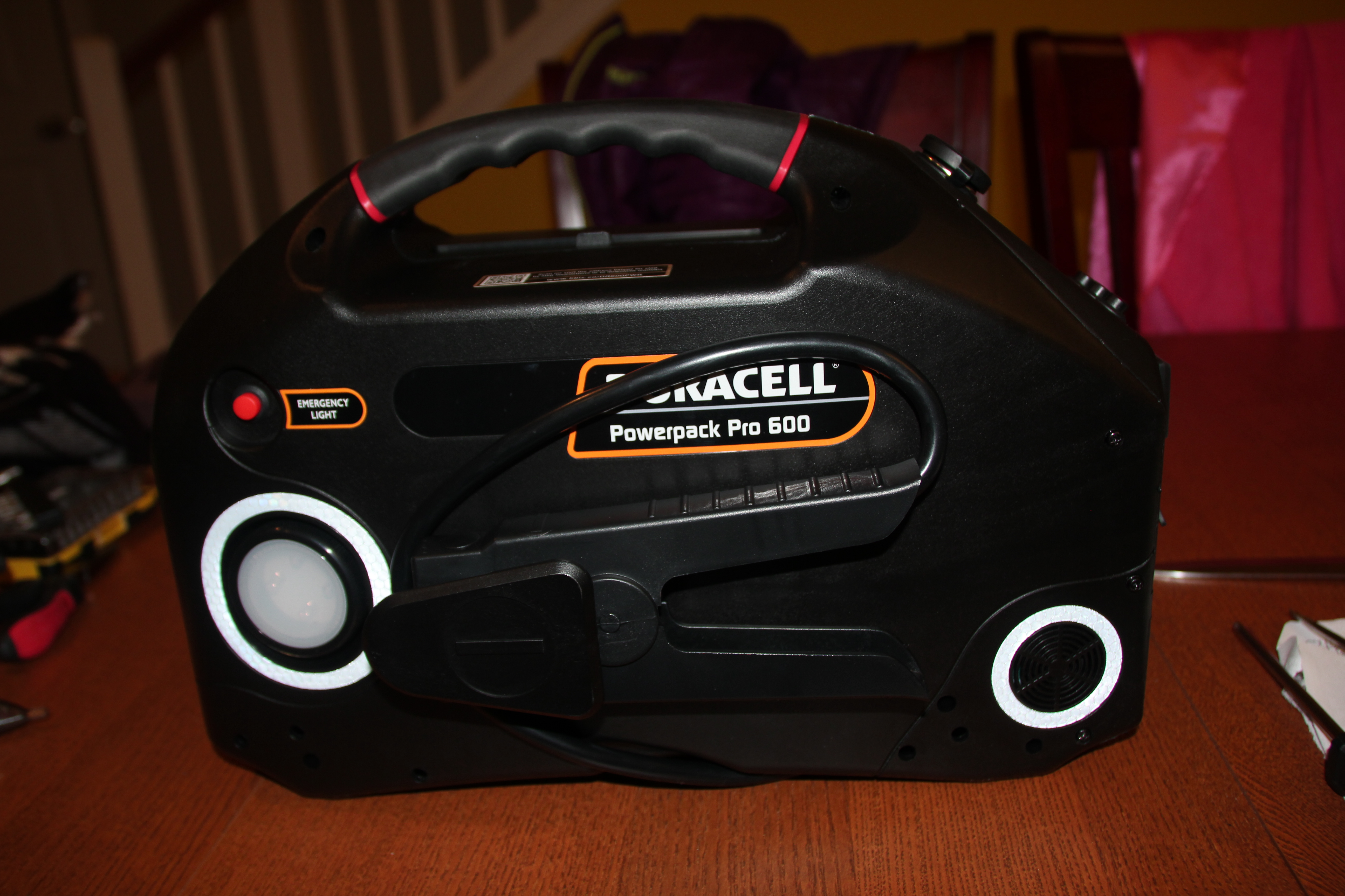 duracell powerpack pro 1300 manual
