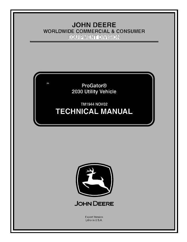 john deere 2030 manual download