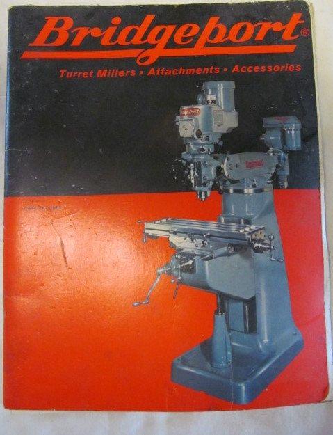 bridgeport vertical milling machine manual