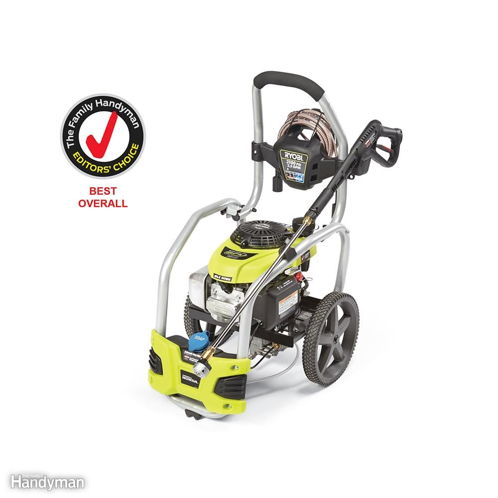 ryobi 3100 psi pressure washer manual