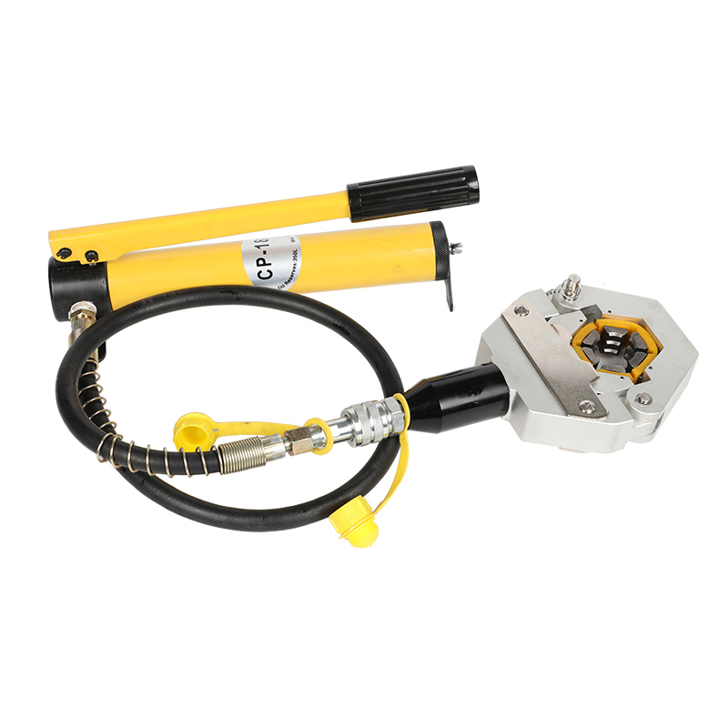 manual hydraulic hose crimping tool