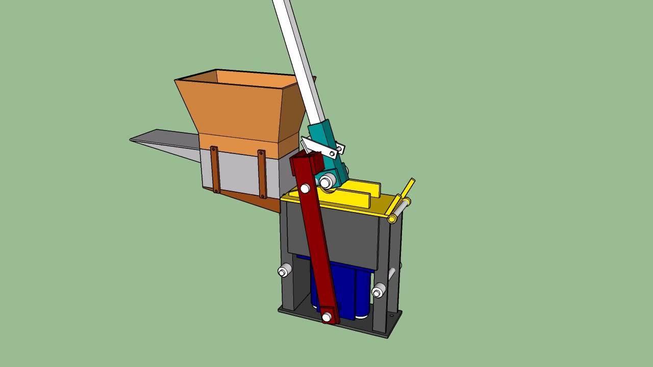 manual brick making machine design pdf