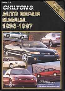 chilton repair manuals free download