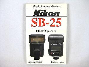 nikon speedlight sb 25 manual