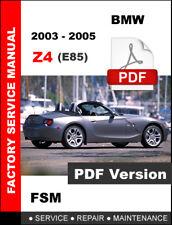 bmw z4 service manual pdf