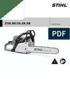 stihl ms 250 repair manual pdf