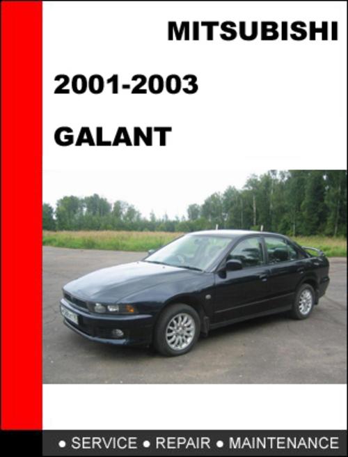2003 mitsubishi galant repair manual pdf