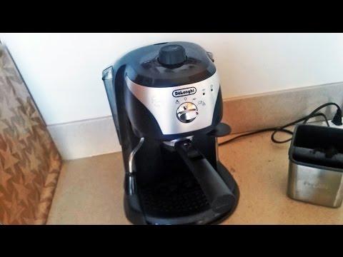 delonghi espresso maker ec155 manual
