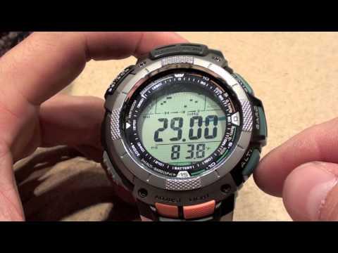 casio sport pathfinder watch manual