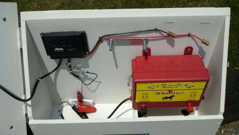 zareba solar fence charger manual
