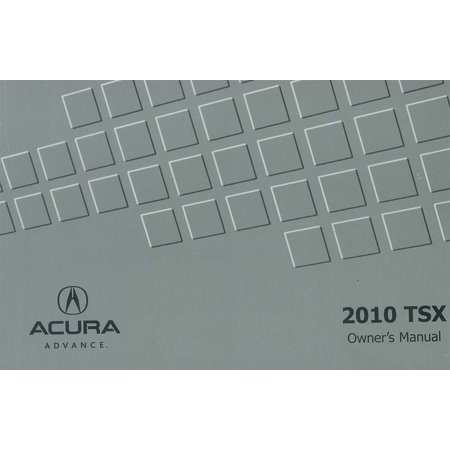 2010 acura tsx owners manual