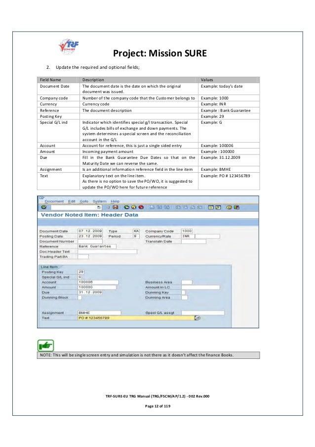 sap accounts payable end user training manual