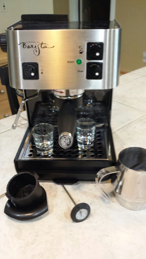 starbucks barista espresso machine manual