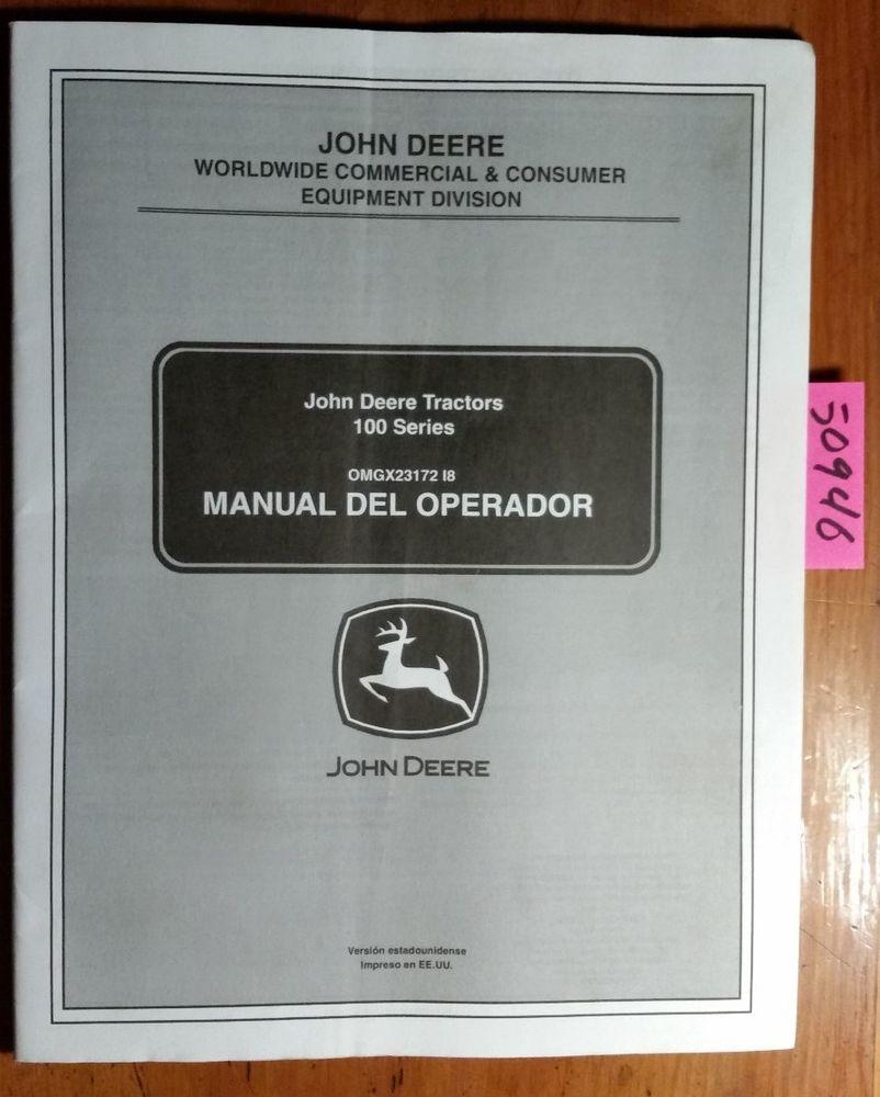 john deere la175 owners manual