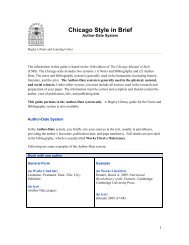 chicago manual of style author date format