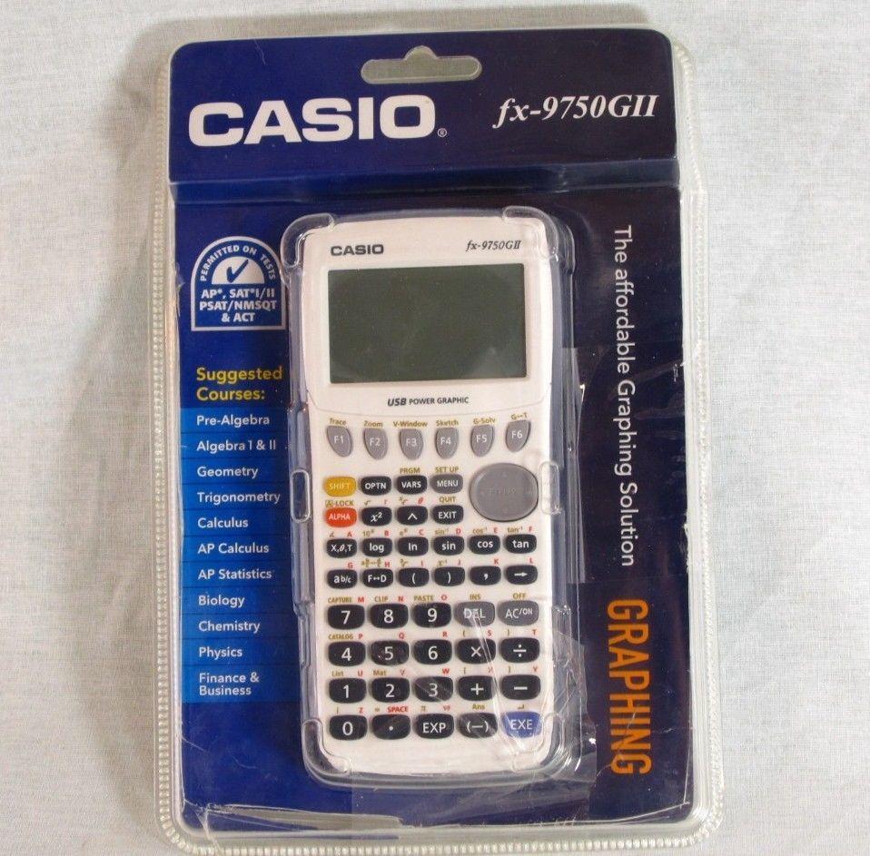 casio calculator fx 9750gii manual