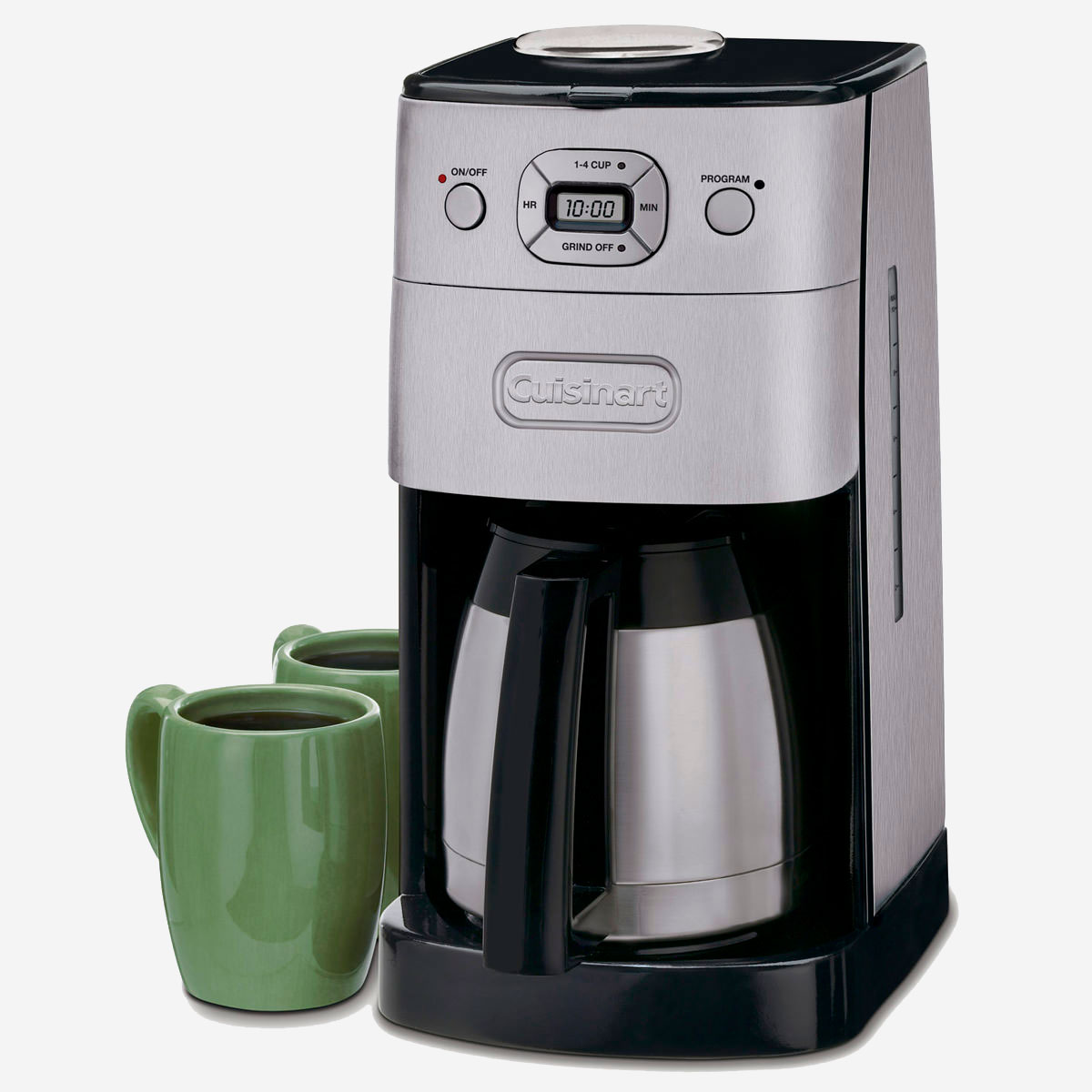 cuisinart fully automatic burr grind and brew manual