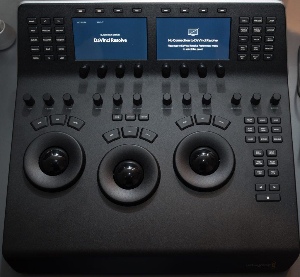 davinci resolve mini panel manual