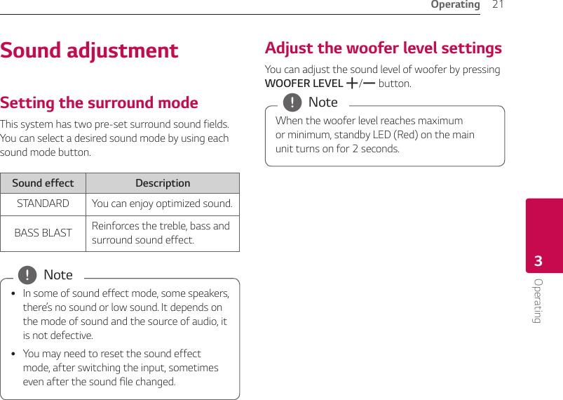 lg sound bar user manual