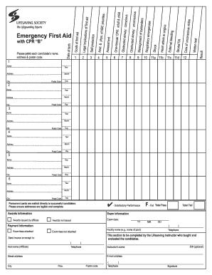 lifesaving society first aid manual pdf