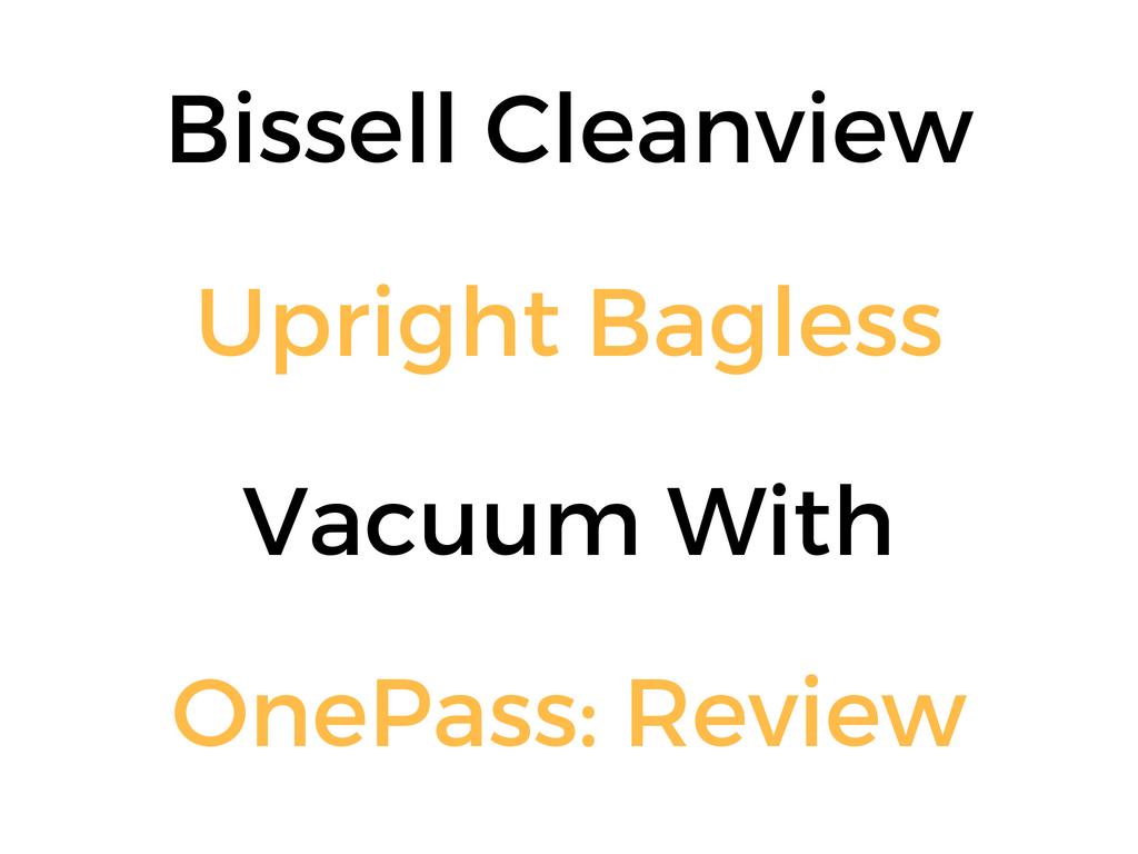 bissell healthy home vacuum manual