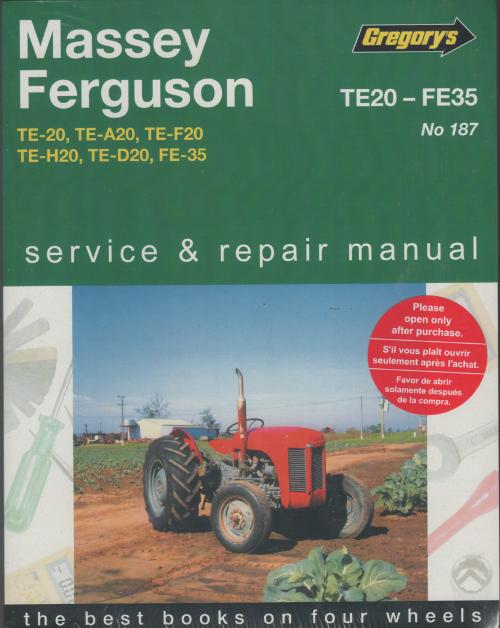 massey ferguson 35 workshop manual
