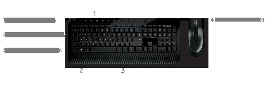 microsoft wireless keyboard 2000 manual