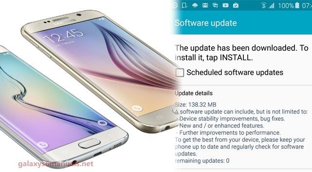 samsung galaxy s manual update