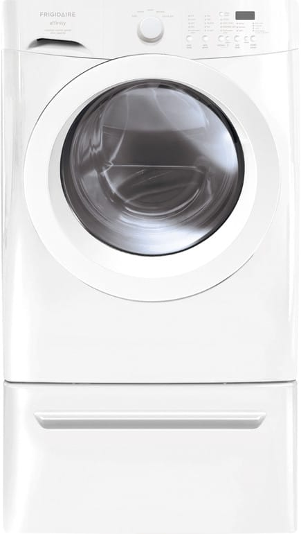 frigidaire gallery series washer dryer manual