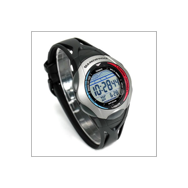 casio pathfinder fishing timer watch manual
