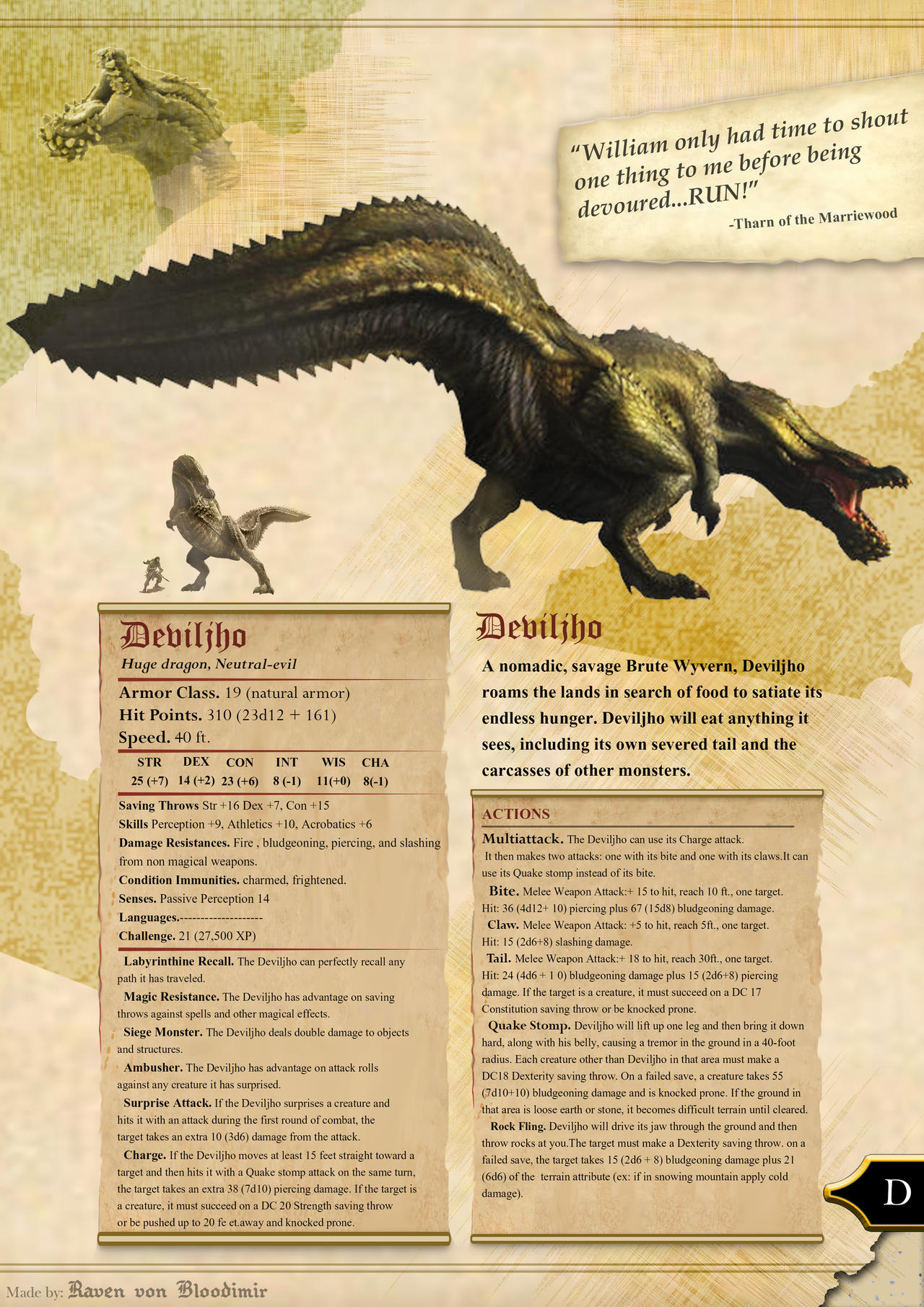 d&d 5e monster manual art