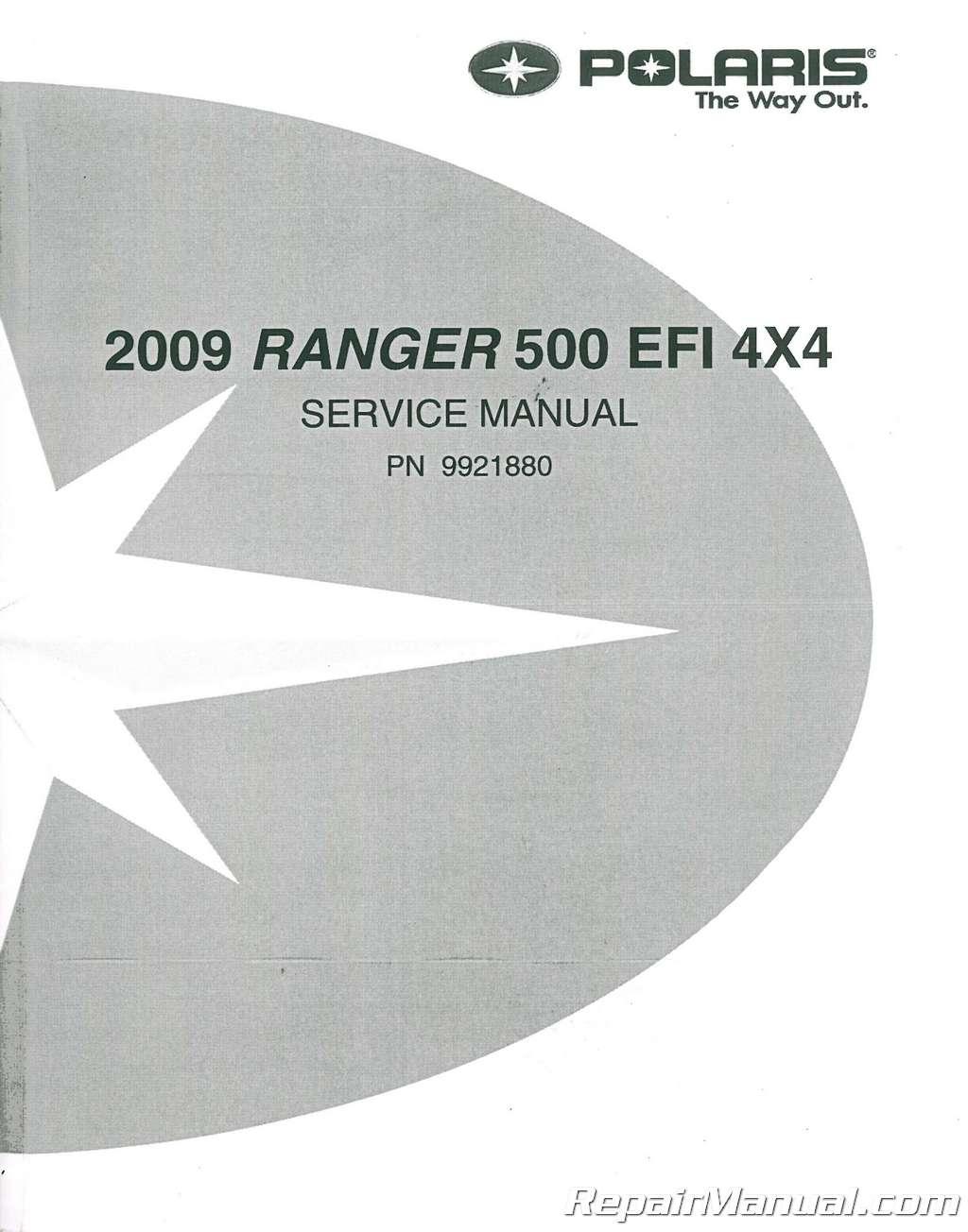 polaris ranger 500 parts manual