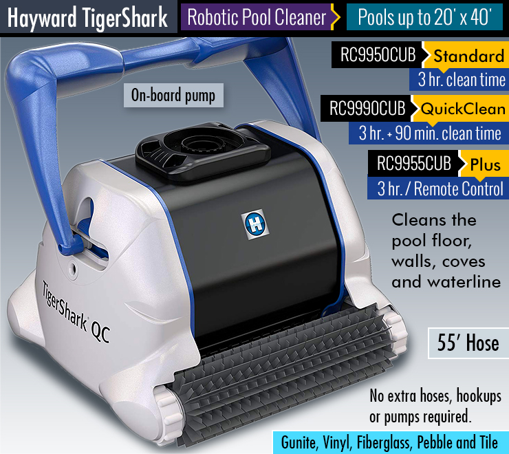tiger shark pool cleaner manual