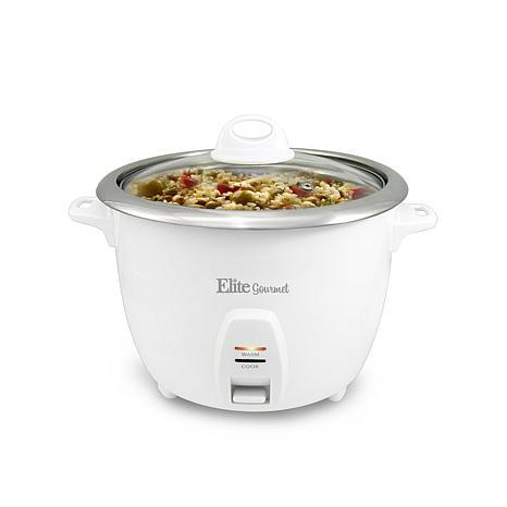 elite platinum rice cooker manual
