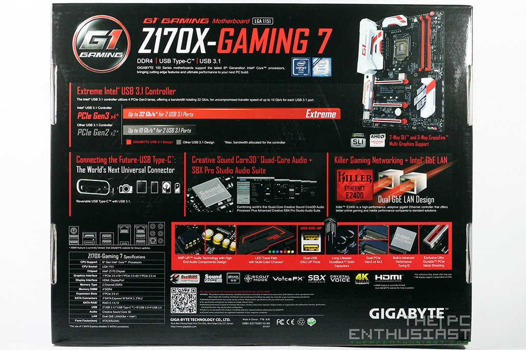 gigabyte z170x gaming 7 manual