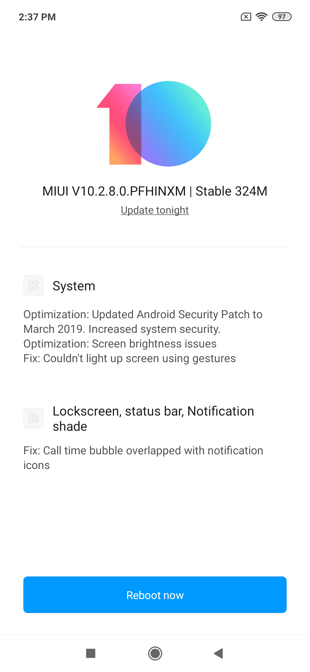 how to update android security patch level manually