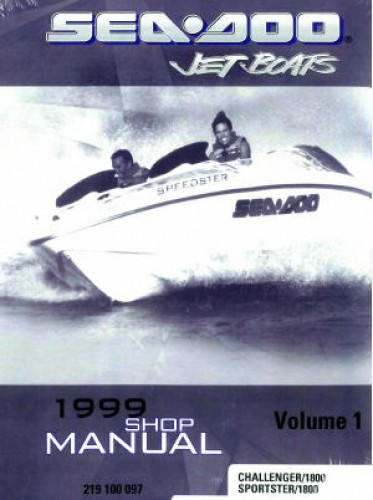 sea doo challenger 180 service manual