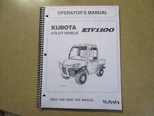 kubota rtv 1140 service manual