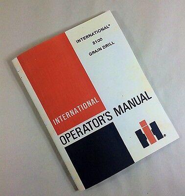 case ih 5100 grain drill manual