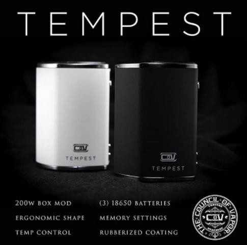 council of vapor tempest manual